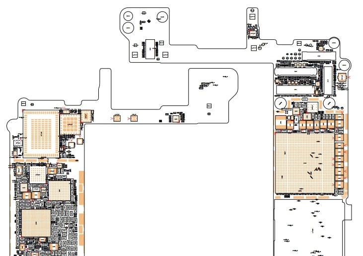 Descargar el plano esquemático del iPhone 6g y 6s GRATIS en PDF