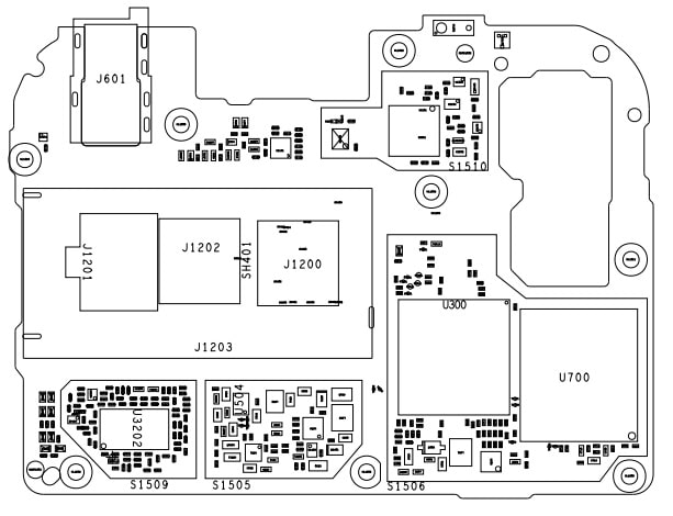Esquematico Moto E6S XT2053