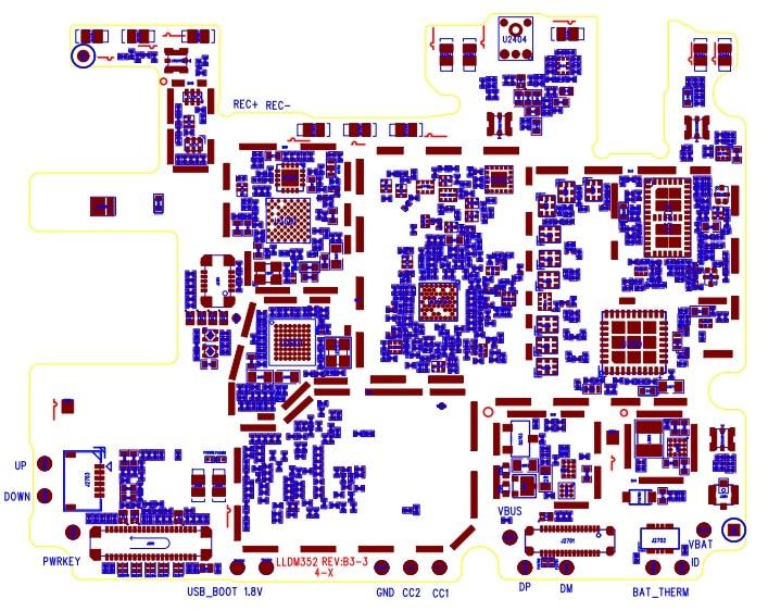Descargar esquematico del Moto One XT1941 GRATIS en PDF