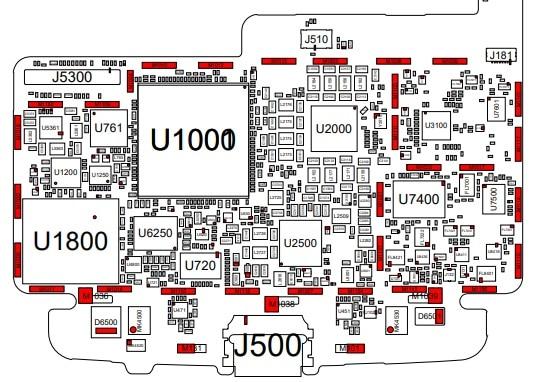 Esquematico Moto Z XT-1650