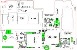 Esquematico Samsung A20 sm-a205fn