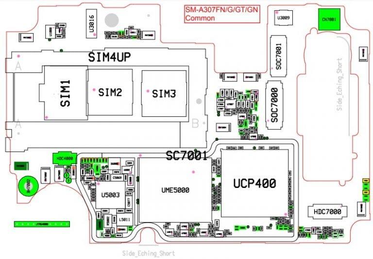 Descargar esquematico del Samsung A30S SM-A307FN GRATIS en PDF