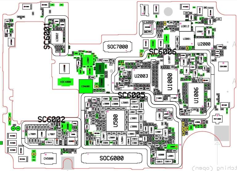 Descargar esquemático del Samsung A51 SM-A515F GRATIS en PDF