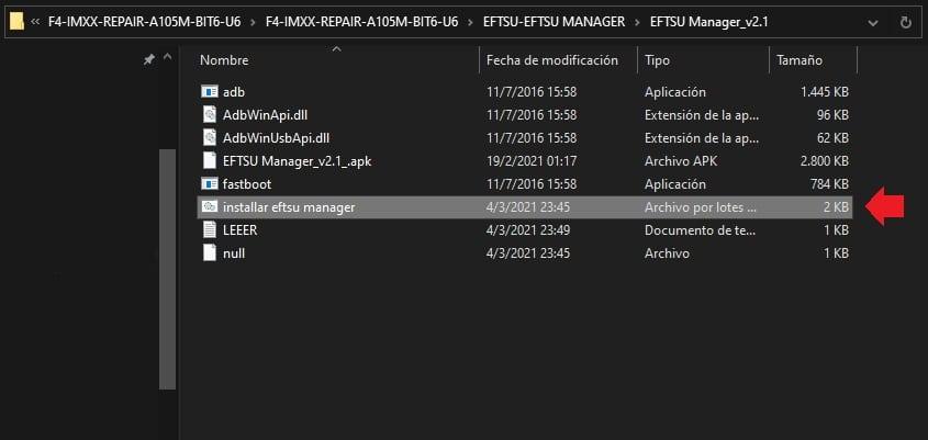 eftsu flash manager