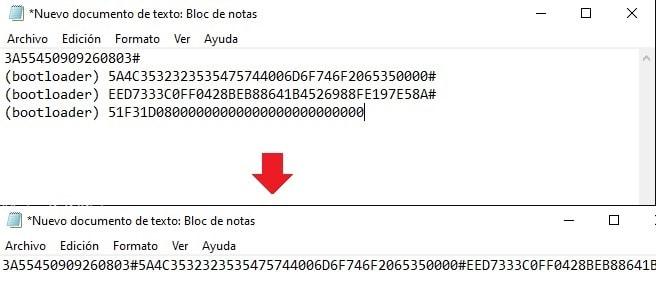 extraer codigos para desbloquear bootloader motorola